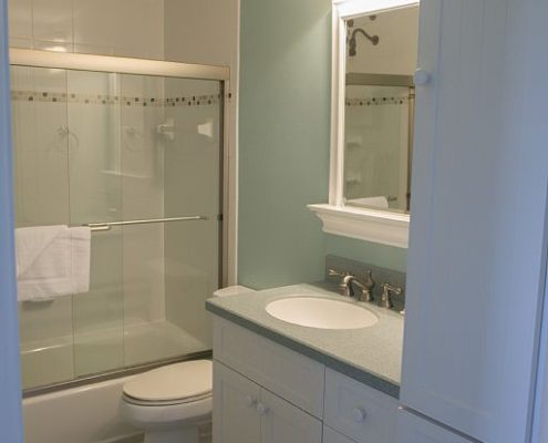 Bathroom at Crescent Royale Condominiums