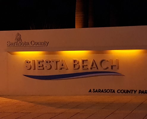 Beautiful public beach directly across the street Siesta Beach - A Sarasota Country Park