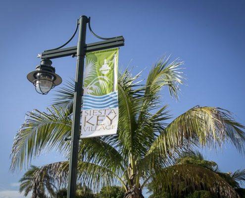 Siesta key village sign